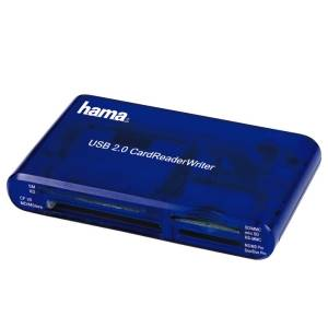 Картридер Hama H-55348 CardReaderWriter 35in1, USB 2.0