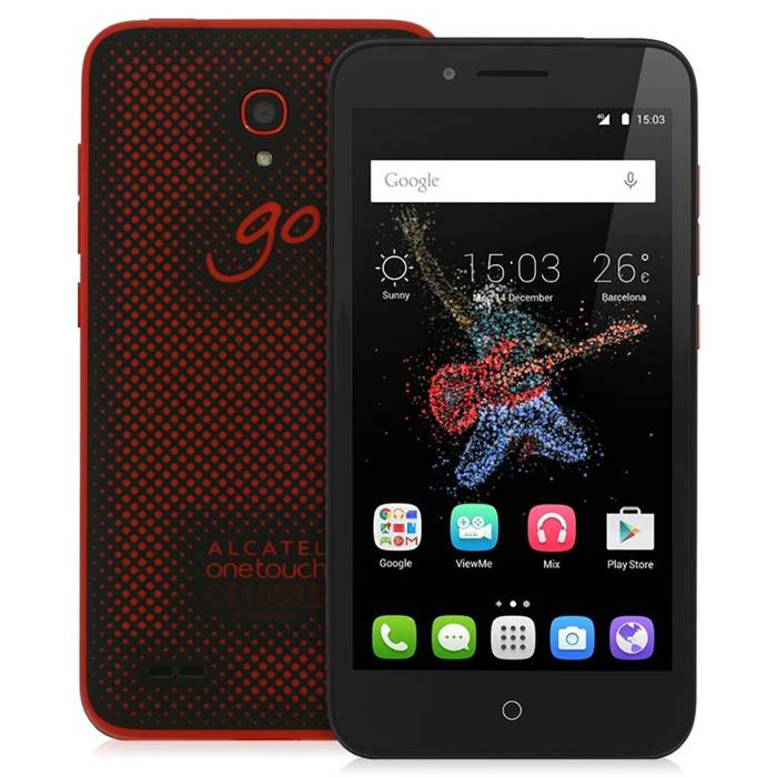 Смартфон Alcatel OneTouch Go Play 7048X Black+Dark Red