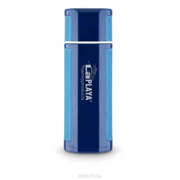 термос LaPlaya Hercules Bottle, 0,75L Blue(560097) стальная колба