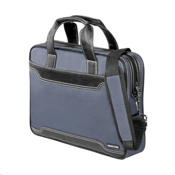 Сумка для ноутбука Cross Case CC15-201 15,6, серая черн. кожа купить ... 44e9e194009