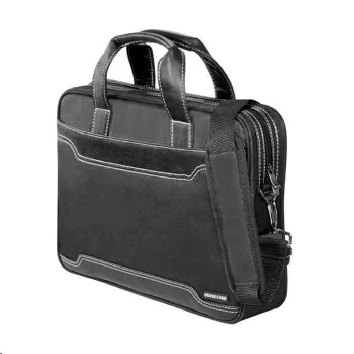 092fa4cbdc14 Сумка для ноутбука Cross Case CC15-201 15,6, черн/черн. кожа купить ...