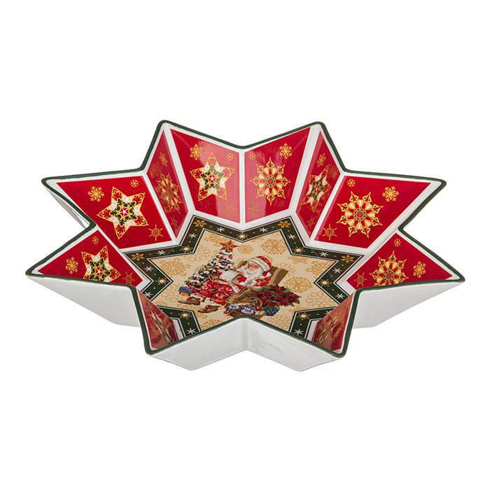 салатник Lefard 586-005 салатник  christmas collection  диаметр=32 см