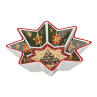 салатник Lefard 586-130 салатник  christmas collection  диаметр=26 см