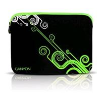 Чехол Canyon Laptop Case NB Sleeve 10  Black/Green (SBCNRNB21G)