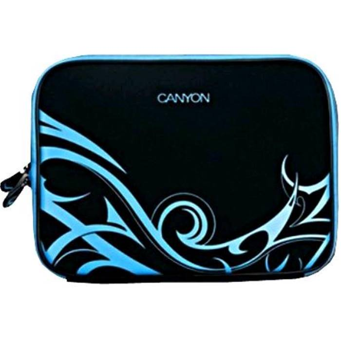 Чехол Canyon Laptop Case Sleeve for 10  Black/Blue (SBCNRNB21BL1)