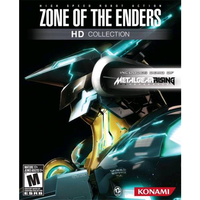 Игра Zone of the Enders HD Collection  Xbox 360, русская документация 4012927037614