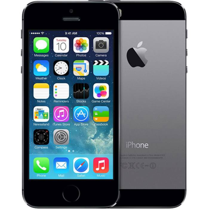 Смартфон Apple iPhone 5S Space gray 16GB(ME432RU/A)