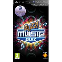 Игра  Buzz! The Ultimate Music Quiz  PSP, русская документация 711719188476