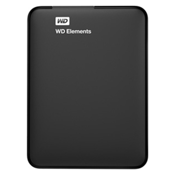 Внешний жесткий диск WD 1TB 2.5  USB 3.0 Elements SE Portable,(WDBUZG0010BBK-EESN)