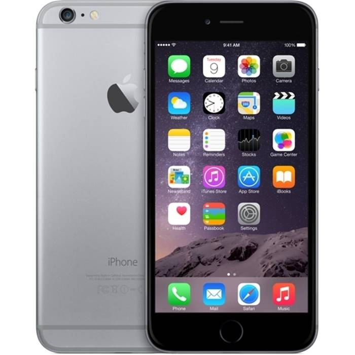 Смартфон Apple iPhone 6-plus Space gray 16GB(MGA82RU/A)