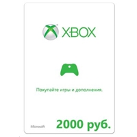 Карта Xbox LIVE: карта оплаты 2000 рублей CALL OF DUTY:ADV WARFARE (K4W-02848)