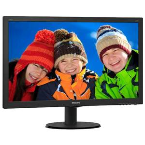 Монитор Philips 240V5QDSB/00(01) Black(IPS-ADS,LED,1920*1080)