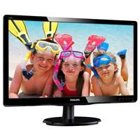 "МОНИТОР 19.53"" PHILIPS 200V4QSBR/00(01) Black (MVA, 1920x1080, 8 ms, 178 /178 , 250 cd/m, 10M:1, +DVI)"